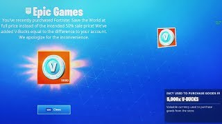 "How to Get NEW ""FREE REWARDS"" in Fortnite (FREE STW + 5,000 VBUCKS)"