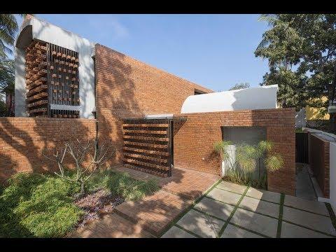 Brick House in Mysuru by Architecture Paradigm