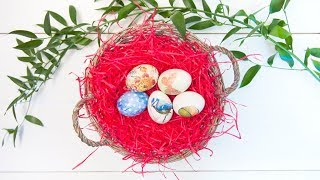 Декупаж яиц | Пасхальные яйца