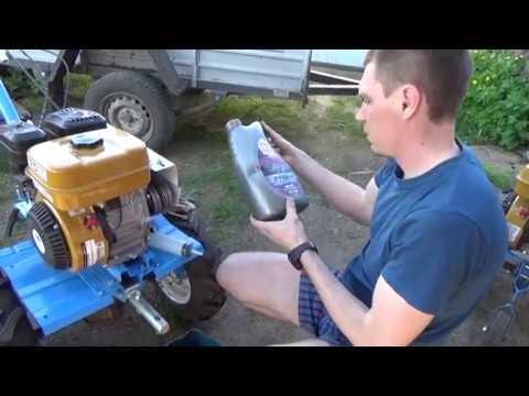Замена масла на мотоблоке НЕВА МБ-2с-7.5 PRO с двигателем Subaru
