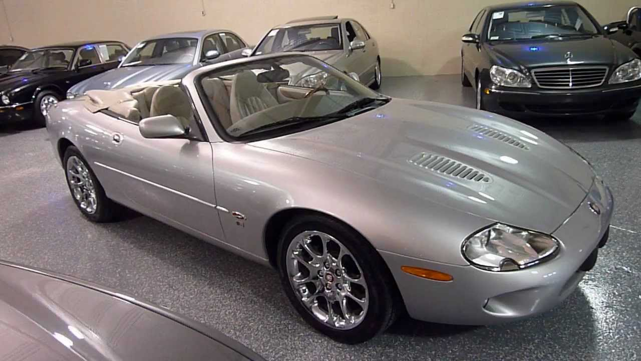 2000 jaguar xkr 2dr convertible supercharged sold 2206 youtube. Black Bedroom Furniture Sets. Home Design Ideas