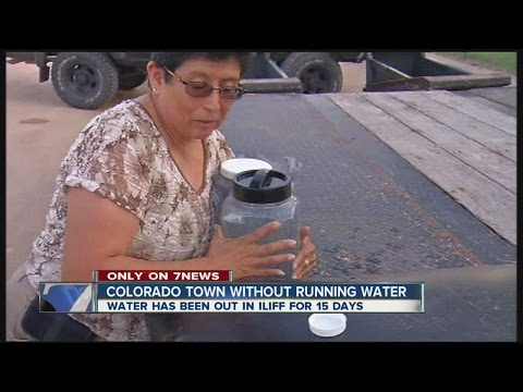 Iliff, Colorado without running water for 15 days