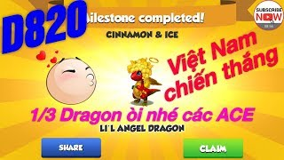 Dragon mania legends Boss Đảo Rồng Huyền Thoại ngày 820
