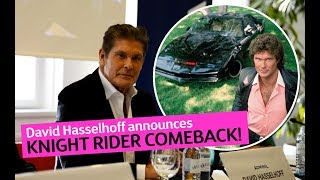 David Hasselhoff announces KNIGHT RIDER Movie (2019)