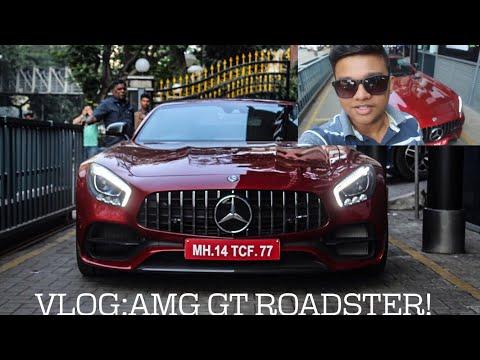 AMG GT Roadster|Startup VLOG! Mumbai