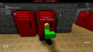cercando di ottenere dorato Baldi su Baldi gioco roblox: C * Impossibile *