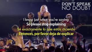 No Doubt - Don't Speak (Subtitulada / Letra al Español)