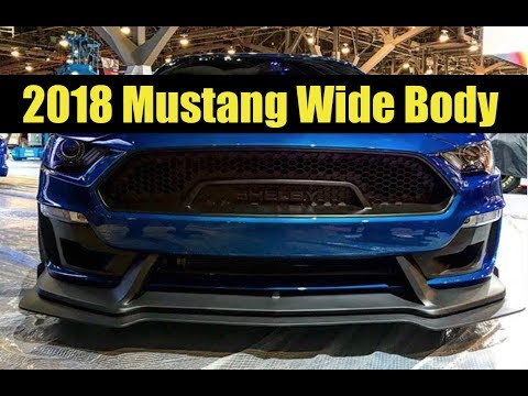 2018 Mustang GT RTR, Super Snake WideBody, Borla Car at SEMA! Mustangs Are Taking Over!