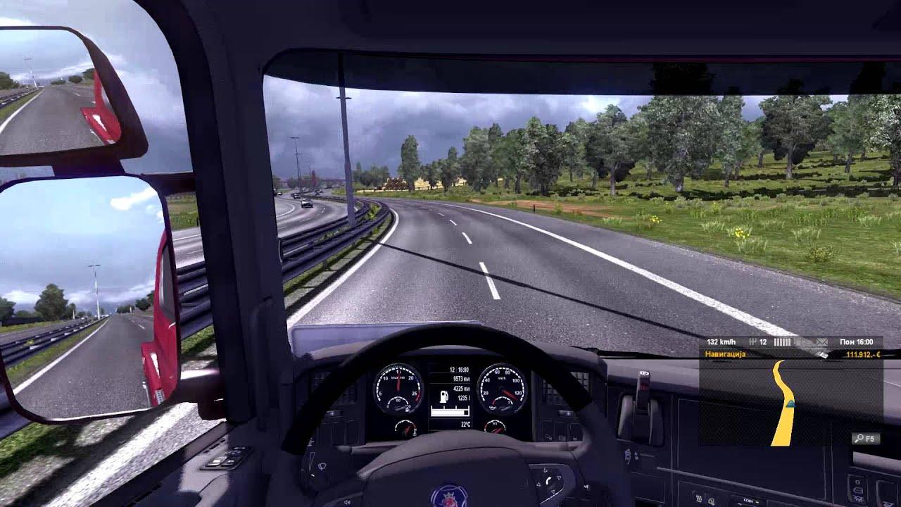b8949d5a64e Euro Truck Simulator 2 Scania R480 Top Speed by СДЖ