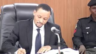 Proceedings Of Code Of Conduct Tribunal On Saraki