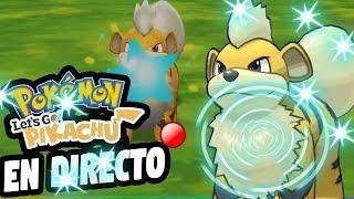 SHINY HUNTING GROWLITHE | Pokémon Let's GO, Pikachu!