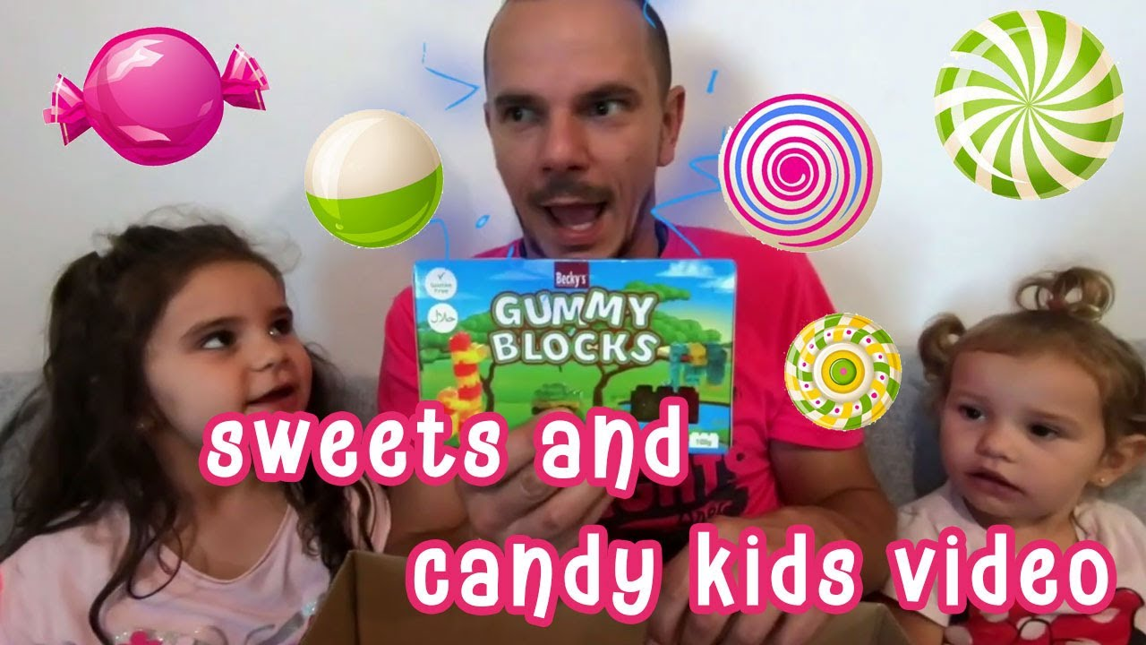 Rihanna and Sajra a story about sweets and candy kids video