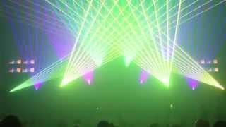 Pokaz laserowy ENERGY 2000 Mediam Show Night cz.2  Katowice 2015 MEDIAM EVENT