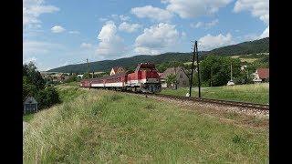 ESK081894 Passenger train Slovakia osobne vlaky dizel lokomotif yolcu treni قطارات الركاب سلوفاكيا