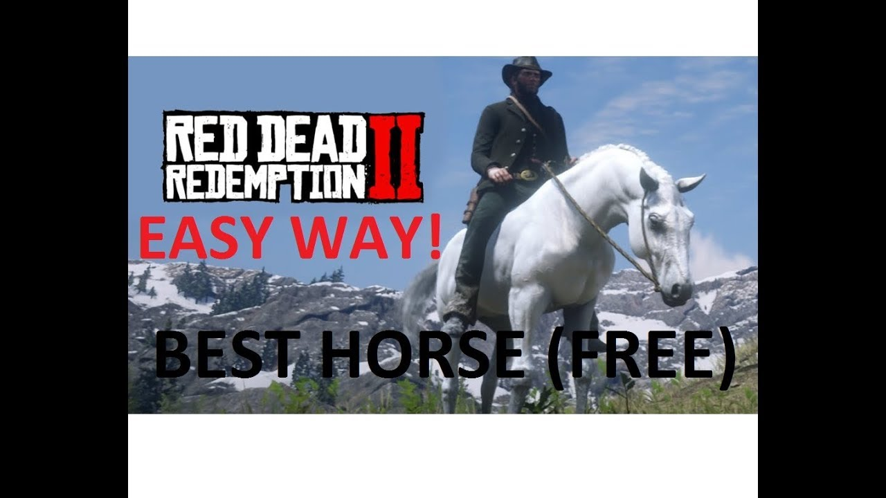 White Arabian Horse Red Dead Redemption 2 Easy Way Ps4 Best