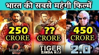 Top 5 BIG BUDGET Bollywood Films - Tiger Zinda Hai, Robot 2.0, Baahubali 2
