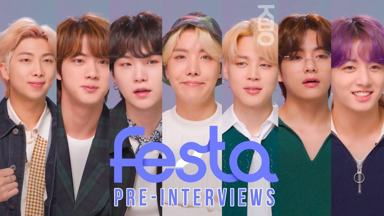 (ENG SUB) [ Re-Edit Ver ] Pre-interviews 멤버별 컷 @ '아미 만물상점' | ARMY Corner Store