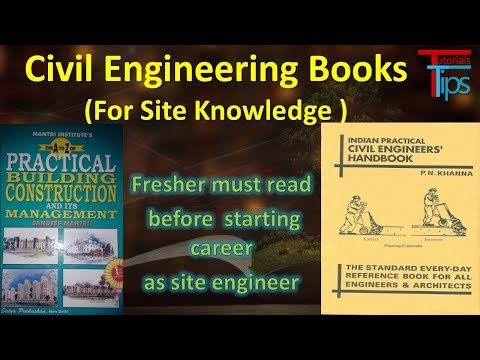 Civil Engineering Books (For Site Knowledge ) | Part -5