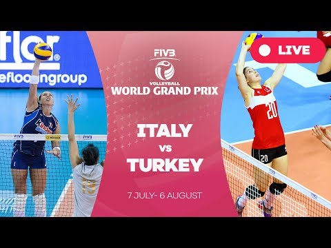 Italy v Turkey - Group 1: 2017 FIVB Volleyball World Grand Prix