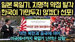 일본이 욱일기 사용 강행하자, 한국이 치명적 약점 드러내 가만두지 않겠다고 했더니...