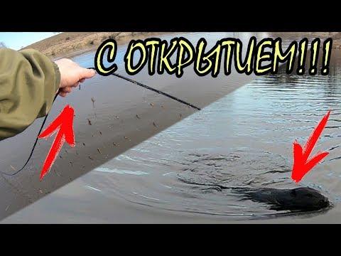 """Открытие рыбалки на спиннинг 2019 """" ОПЯТЬ СЕТИ """". Огромный Бобер таранит мою лодку!"""
