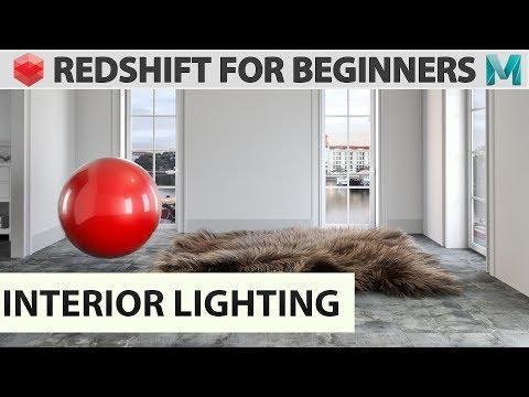 Redshift For Beginners - Interior Lighting
