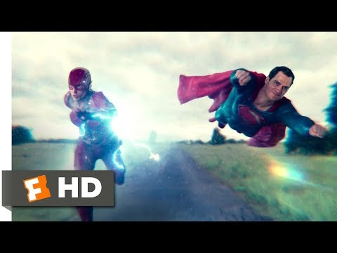Justice League (2017) - The Fastest Man Alive Scene (10/10) | Movieclips