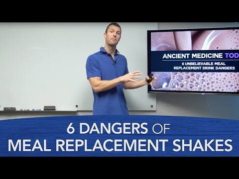 6 Dangers of Meal Replacement Shakes