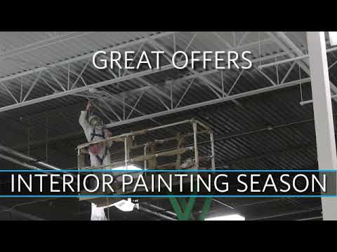Commercial Interior Painting Season (2018 - 2019) Illinois & Wisconsin - Allied Painting Contractors