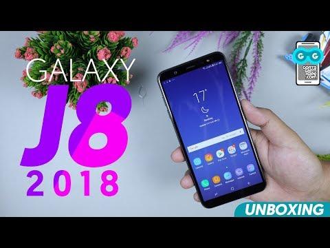 PERTAMA! Unboxing Samsung Galaxy J8 2018 Indonesia, Seri J Paling Lengkap!