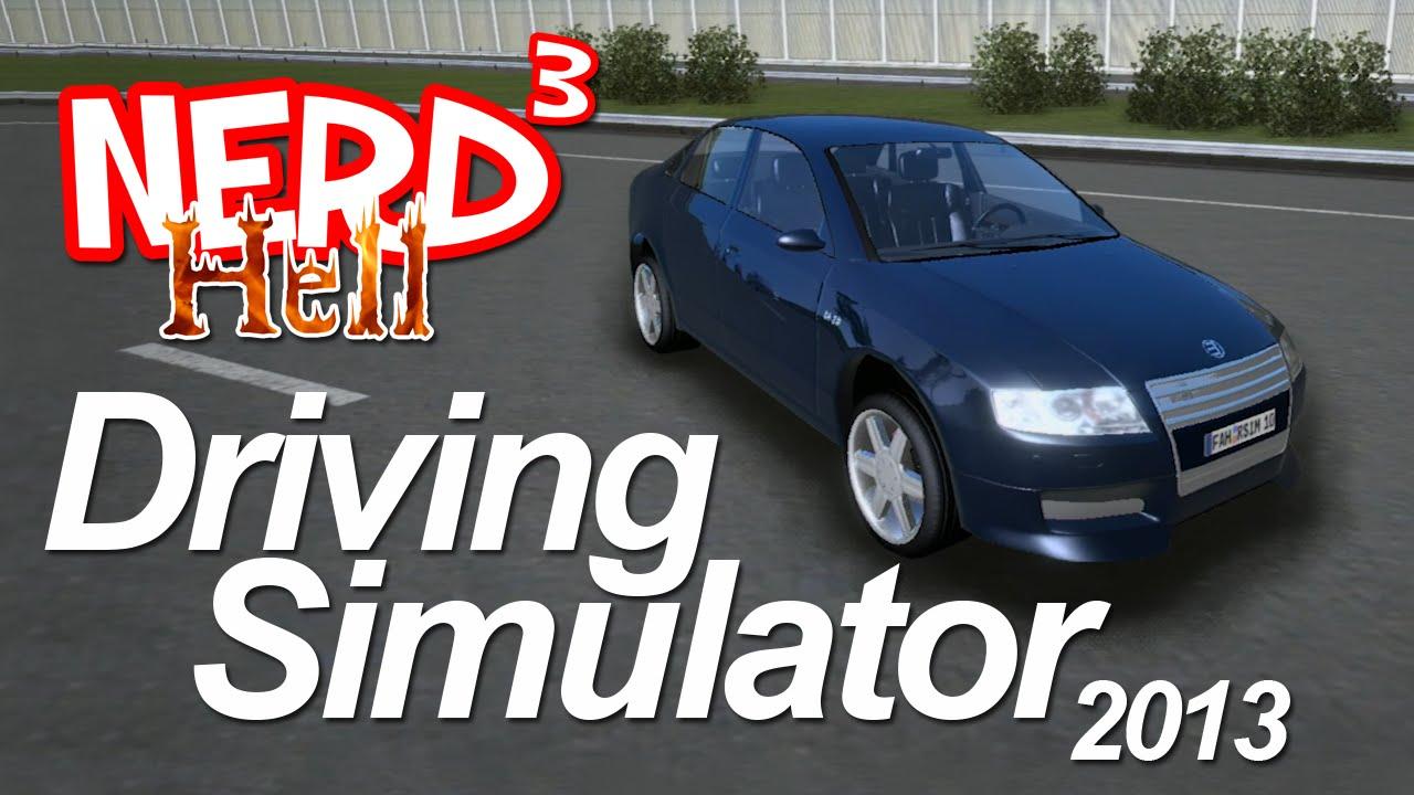 Nerd S Hell Driving Simulator 2013 Youtube
