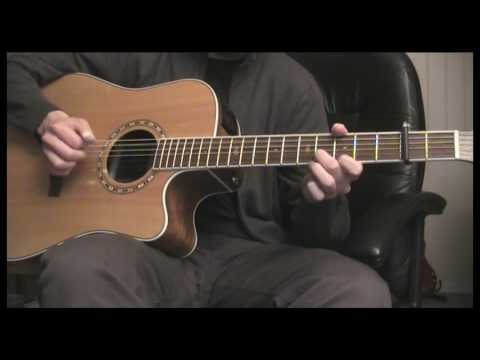 Acoustic jam in open G minor tuning (1/3)