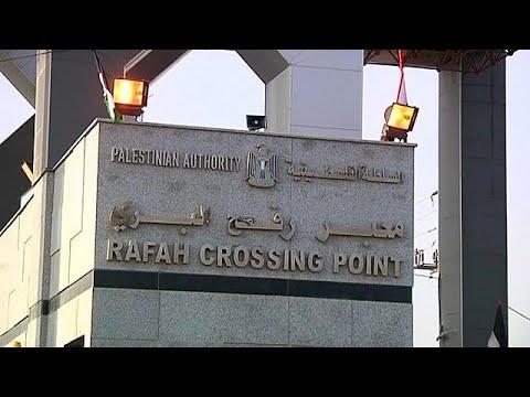 euronews (deutsch): Grenzübergang Rafah geöffnet
