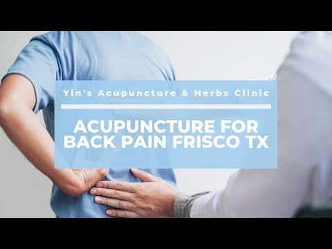 Good Acupuncture for Back Pain Frisco TX Clinic – Yin's Acupuncture & Herbs Clinic | (972) 668-2626