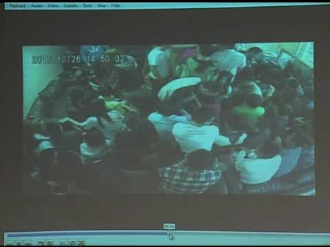 CCTV shows cops allegedly planting drugs