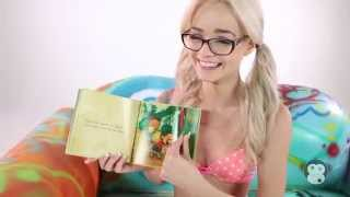 Elsa Jean Reads A Bed Time Story