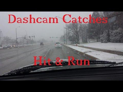 Dash Cam Records Hit & Run - Garmin Dash Cam 20