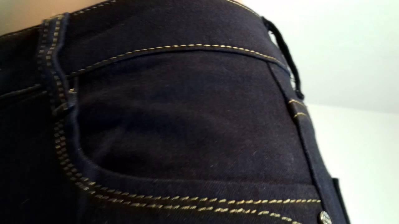DIY (делаем) джинсы с порванными коленями, Sophie Koko - YouTube