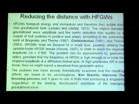 Robert Baker on HFGW Gravitational Wave Fusion Energy