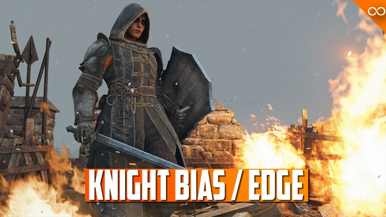 Edge and Edge Walking - Is there a Bias Towards the Knights