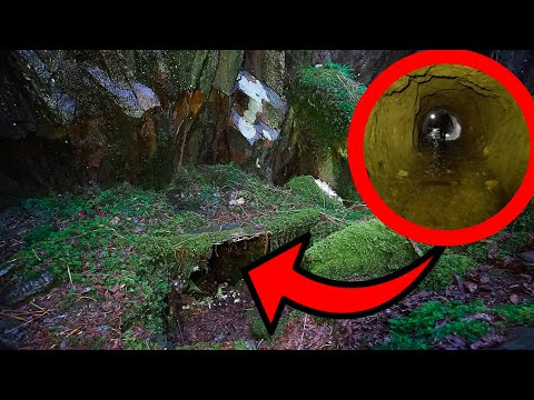 A DOOMS DAY PREPPERS SECRET ABANDONED CAVE