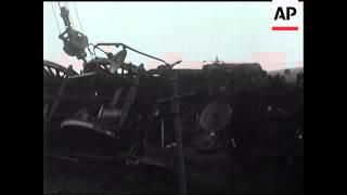 SUTTON COLDFIELD - RAIL DISASTER