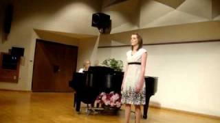 Jenna Davis sings Una voce poco fa