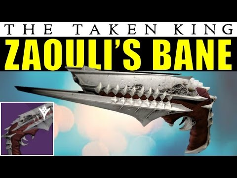Destiny: Zaouli's Bane Gameplay & First Impressions | King's Fall Raid Hand Cannon