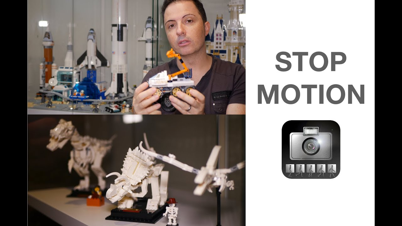 Create STOP MOTION VIDEOS using iMotion HD
