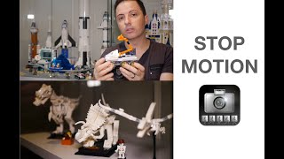 Create STOP MOTION VIDEOS (LEGO Rover 60225 & Dinosaur Fossil 21320)