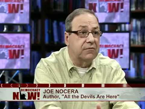 """Joe Nocera on Book, """"All the Devils Are Here: The Hidden History of the Financial Crisis"""""""