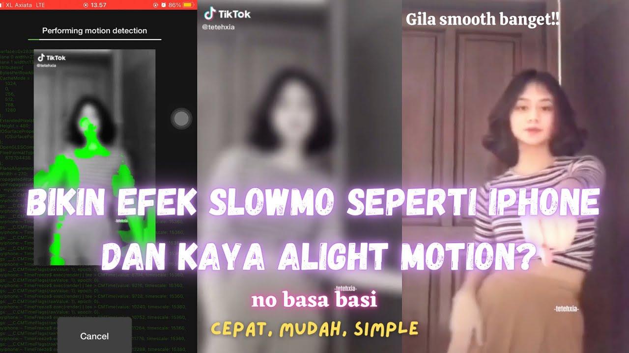 Cara Edit Slow Motion Super Smooth Dan Efek Zoom Di Apk Capcut Time Freeze Terbaru 2021 Youtube