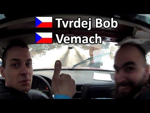 Rally Muna 2018, 3 RZ  Tvrdej Bob, Vemach