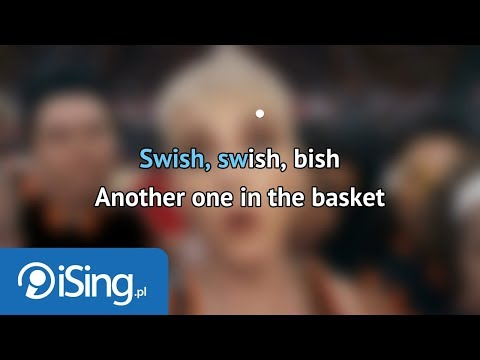Katy Perry - Swish Swish ft. Nicki Minaj (karaoke iSing)
